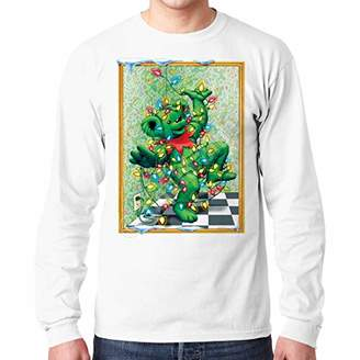 Liquid Blue Unisex-Adult's Grateful Dead Dancing Tangled Bear Long Sleeve TEE