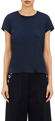 Sacai Women's Pleated-Back T-Shirt