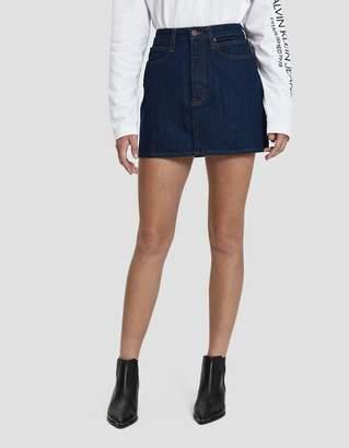 Calvin Klein Jeans Est. 1978 Denim Mini Skirt