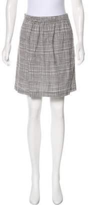 Chinti and Parker Check Mini Skirt