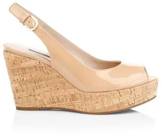 f70142606e38 Beige Cork Wedge Sandals For Women - ShopStyle UK