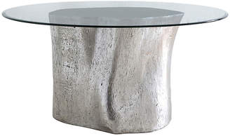 "Log 36"" Dining Table - Silver Leaf - Phillips Collection"