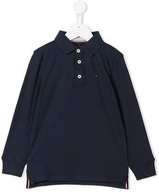 Tommy Hilfiger Junior long sleeve polo shirt