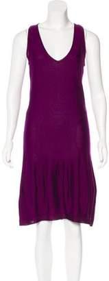 Saint Laurent Sleeveless Midi Dress