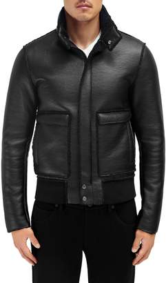 EFM Engineered For Motion Gatton Faux Shearling Bomber