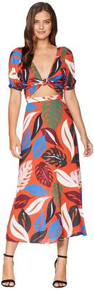 Rachel Pally Crepe Wrap Top/Skirt Set Women's Active Sets