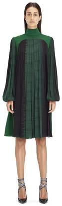 Lanvin Mid-Length Moss Green Dress