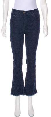 Etro High-Rise Straight-Leg Jeans