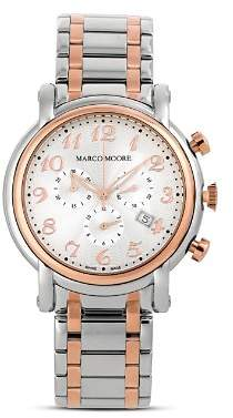 Bloomingdale's Marco Moore Swiss Movement Watch, 44mm