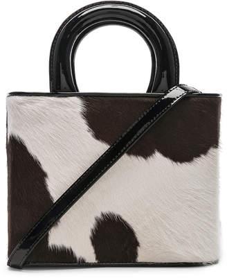STAUD Nic Bag in Cow Print | FWRD