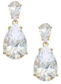 757780a95 ... Adriana Orsini 18K Goldplated Sterling Silver Double Pear Drop Earrings  - Gold