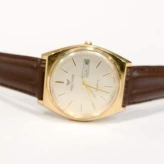 Blade + Blue Vintage Gold Tone Waltham Watch