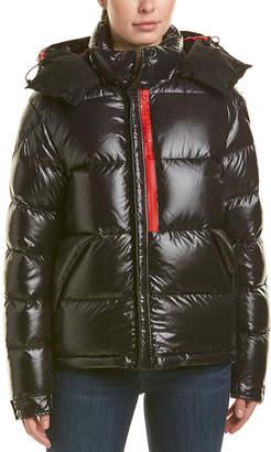 Moncler Wool-Trim Puffer Jacket