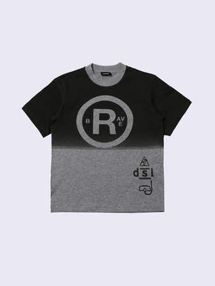 Diesel KIDS T-shirts and Tops KYAAB - Grey - 10Y