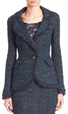 St. John Multi-Sparkle Knit Jacket $2,595 thestylecure.com