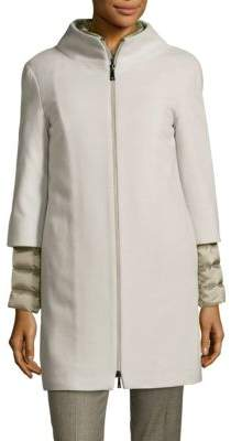 Peserico Two-Piece Puffer Jacket and Coat