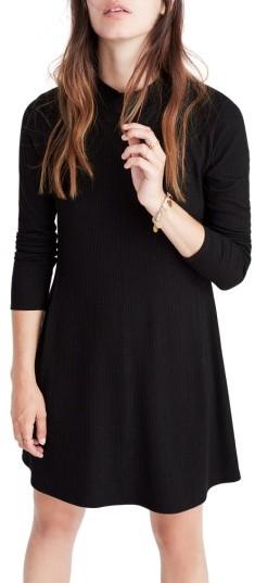 Women's Madewell Mock Neck Marled Knit Dress