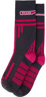 Prada Nylon knit socks