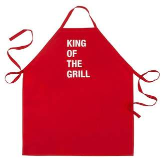 """ABOUT FACE DESIGNS \""""King Of The Grill\"""" Apron"""