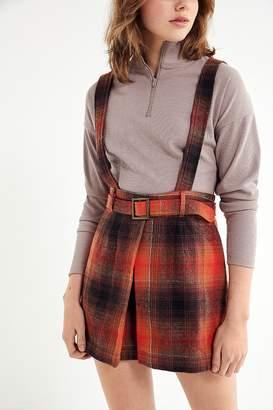 Urban Outfitters Matilda Cross-Back Pinafore Dress