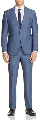 HUGO Chambray Solid Regular Fit Suit $695 thestylecure.com