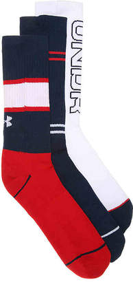 Under Armour Phenom 4.0 Crew Socks - 3 Pack - Men's