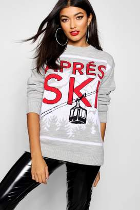 boohoo Apres Ski Christmas Jumper