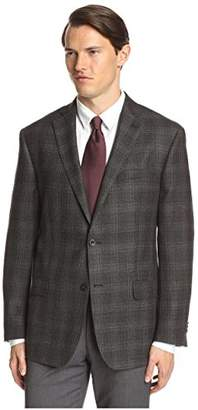 Franklin Tailored Men's Large Plaid Triton Sportcoat