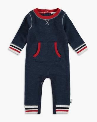 Splendid Baby Boy Stripe Rib Onesie