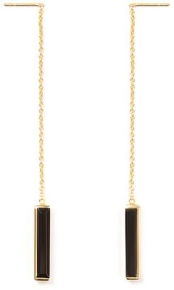 Jewel Tree London Urban Earrings Black Onyx