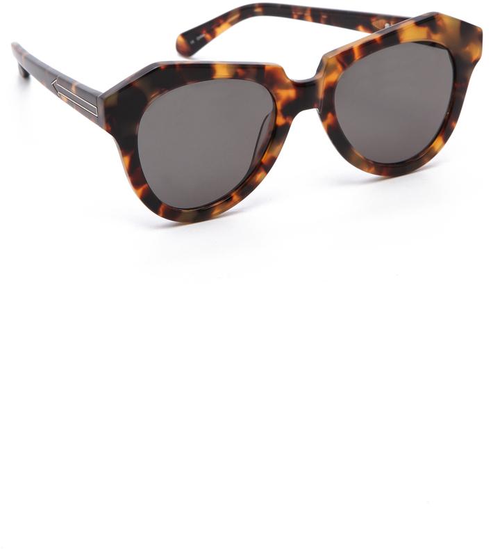 Karen Walker Mirrored Sunglasses  karen walker felipe sunglasses style com au women