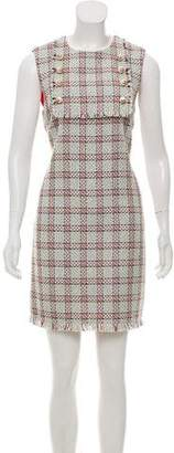 Gucci 2016 Tweed Plaid Dress w/ Tags