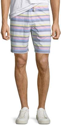 Original Penguin Men's Striped Pull-On Shorts