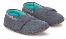 Toms Boy's Chevron Embroidered Low-Top Sneakers