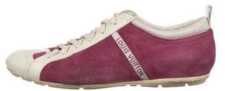 Louis Vuitton Britney Suede Sneakers
