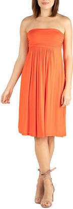24/7 Comfort Apparel Sleeveless Sheath Dress
