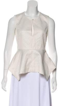 Elizabeth and James Textured Peplum Top w/ Tags