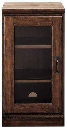 Pottery Barn Printer's Single Glass Door Cabinet