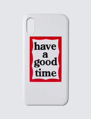 Have A Good Time Frame Iphone Case For Iphone X