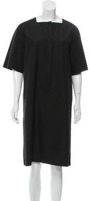 Calvin Klein Collection Short Sleeve Knee-Length Dress