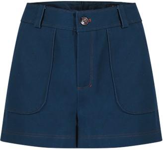 Gisy Canvas Suit Short Pants