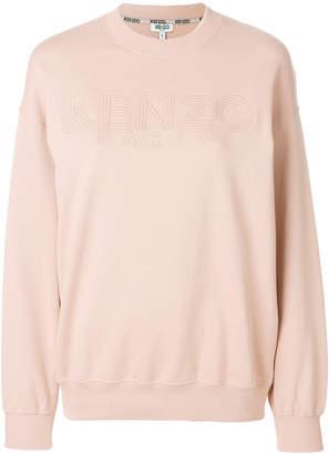 Kenzo lettering logo sweatshirt