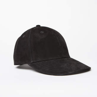 DSTLD Suede Hat in Black