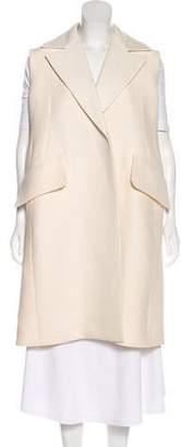 Celine Longline Wool Vest