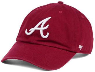 '47 Atlanta Braves Cardinal and White Clean Up Cap