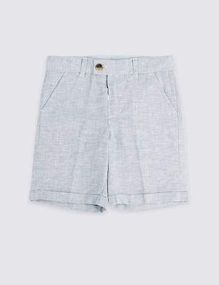 Marks and Spencer Linen Shorts (3 Months - 7 Years)