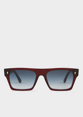 Paul Smith Cutler And Gross + Bristol Red Sunglasses - Limited Edition