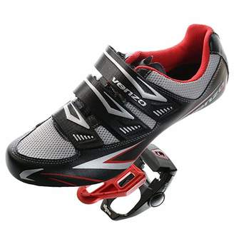 Shimano Venzo Road Bike For SPD SL Look Cycling Bicycle Shoes & Pedals 46