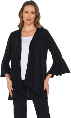 DAY Birger et Mikkelsen Every by Susan Graver Liquid Knit Cardigan with Bell Sleeves