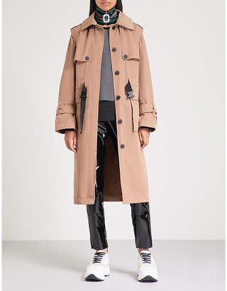 Kenzo Belted shell trench coat